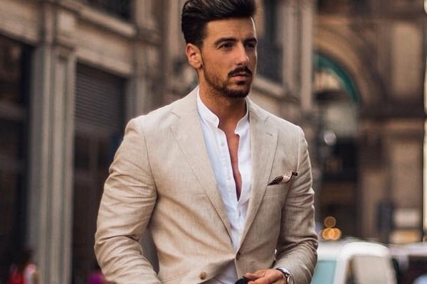 How To Wear Khaki Suit Outfit Ideas