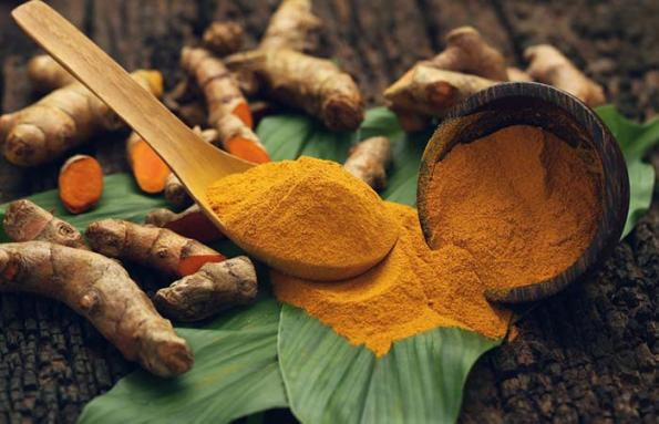 Turmeric and Castor Oil