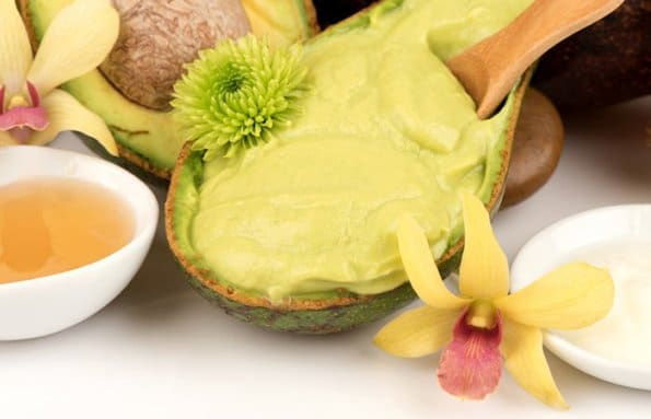 Avocado And Kiwi Face Pack