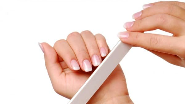 File and Shape the Nails