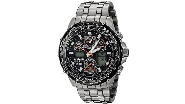 Citizen JY0010-50E Eco-Drive Skyhawk A-T Titanium Watch