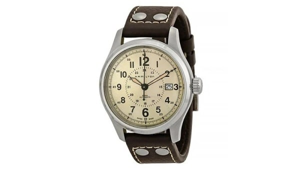 HAMILTON Khaki Field Automatic Old Paper Dial Men's Watch