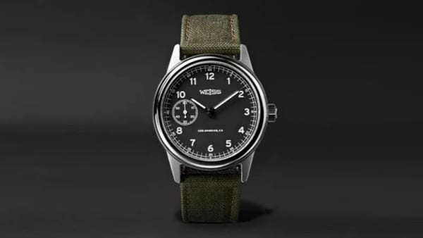 Weiss Automatic Issue 38mm Stainless Steel and CORDURA