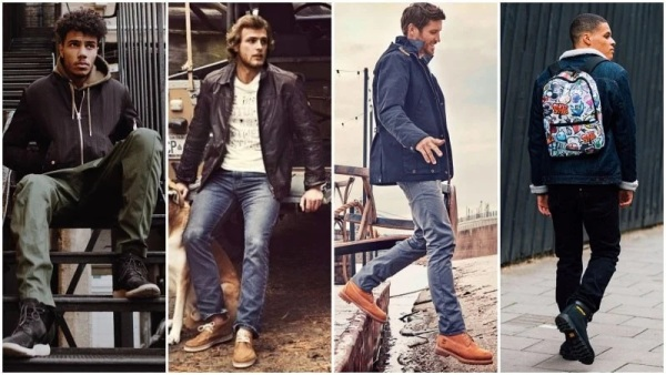 Timberland Boots with Jacket