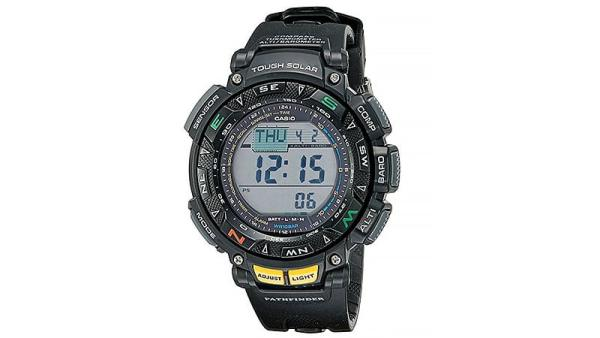 Casio Men's PAG240-1CR Pathfinder Triple Sensor Multi-Function Sport