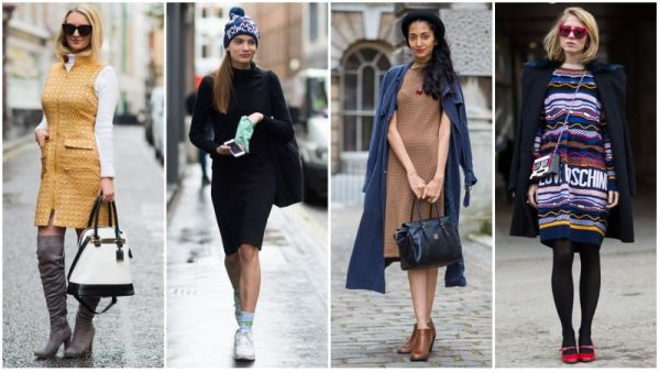 Cute and Casual Winter Dresses