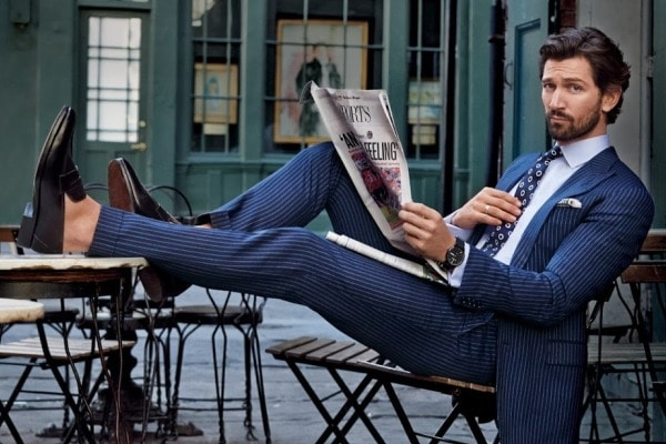 How To Wear A Pinstripe Suit With Style