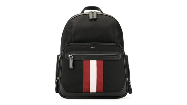 Bally Striped Detail Backpack