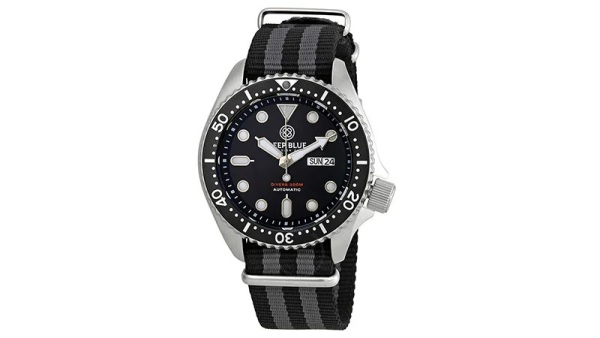 Deep Blue Watches Nato Diver 300 Men's Watch