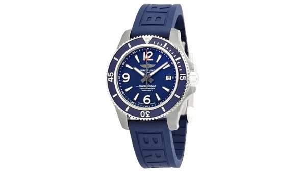 Breitling Superocean Chronometer Blue Dial Men's Watch
