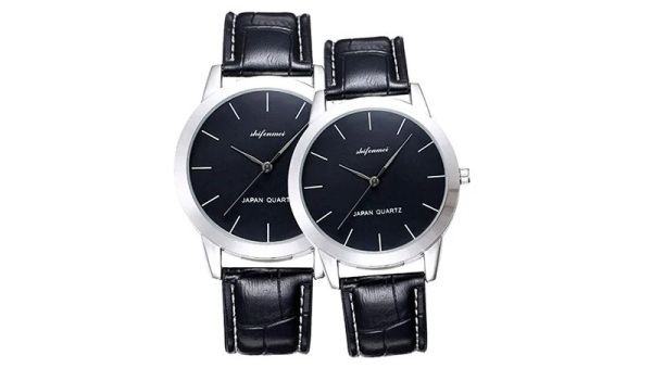 shifenmei His and Hers Quartz Analog Watch