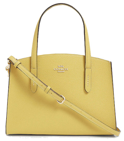 Charlie Grained Leather Tote Bag
