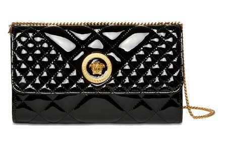 Icon Patent Leather Quilted Bag – Versace