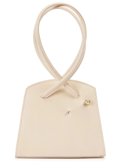Little Liffner Twisted Triangle Top Handle Bag