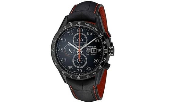 Tag Heuer Carrera Men's Automatic Chronograph Titanium Watch