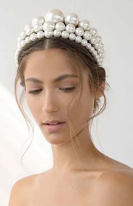 Bridal Hairstyle with Headband