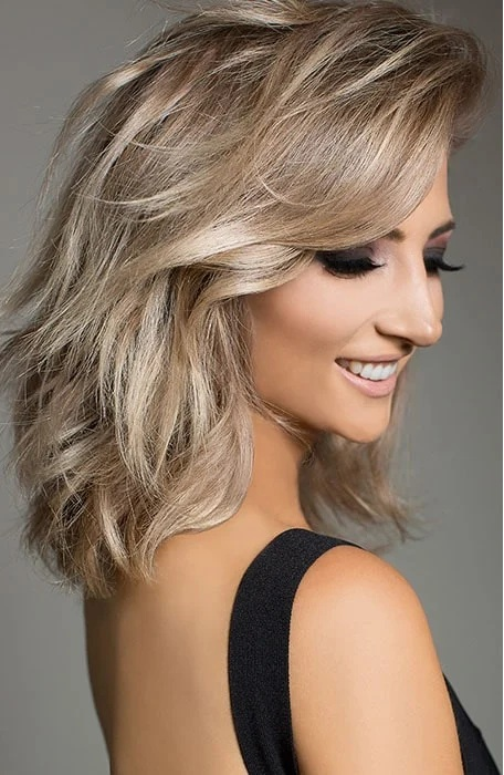 Cool Blonde Balayage Hair Color Ideas