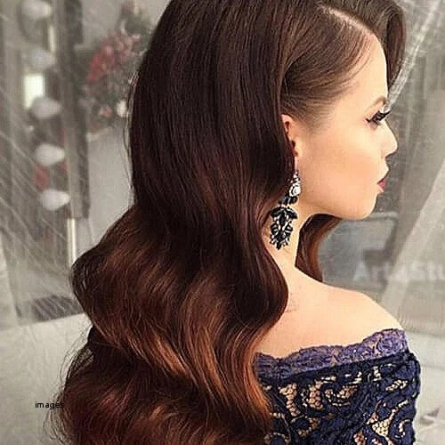 Hair Tucked Behind Ear Hairstyles For Bridesmaids