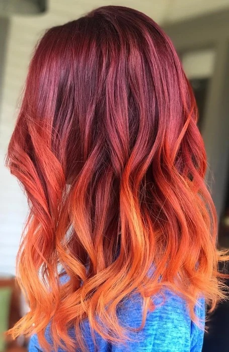 Red and Orange