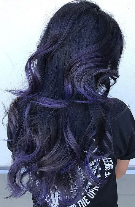 with Purple