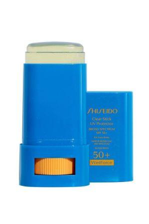 Invisible Stick - Shiseido Clear Stick UV Protector WetForce