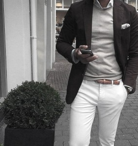 What To Wear With White Jeans For Men 30