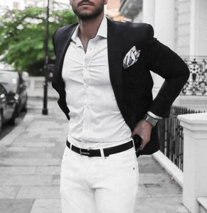 What To Wear With White Jeans For Men 9
